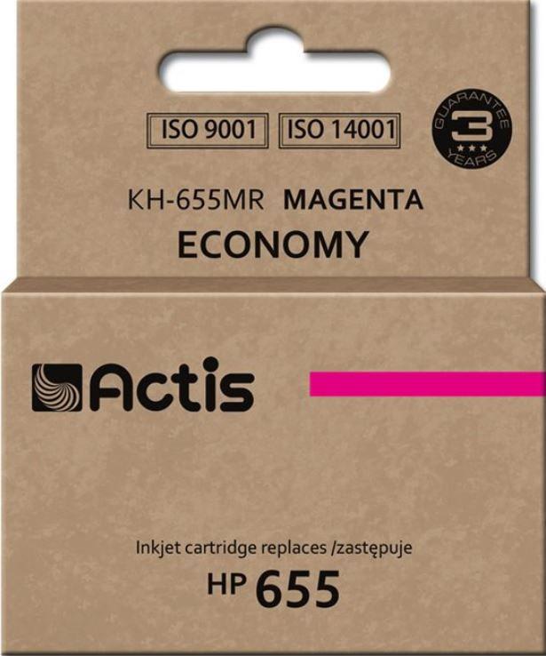 Кассета для принтера Actis Cartridge KKH-655MR For HP 12ml Magenta