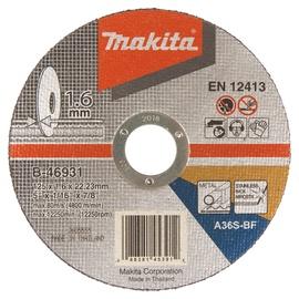 Pjovimo diskas Makita B-46931, 125 x 1.6 x 22.23 mm