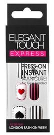 Liimitavad küüned Elegant Touch, 24 ml
