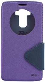 Roar Fancy Diary S-View Book Case Apple iPhone 7 Plus Purple/Blue