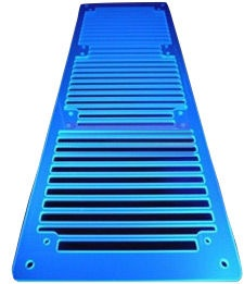 AC Ryan RadGrillz 3x120mm Acryl UV Blue