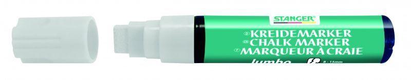 Stanger Chalk Marker 8-15mm 4pcs White 620050