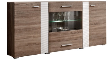 ASM Aleppo Commode Sonoma Oak/White Gloss