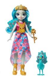 Кукла Mattel Royal Enchantimals Queen Paradise + Peacock Rainbow