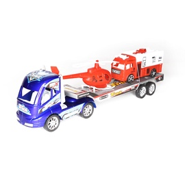 SN Speed Power King Toy Truck With Car And Helicopter