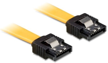 Delock Cable SATA / SATA Yellow 0.50m
