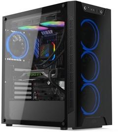 SilentiumPC Armis AR6X TG ARGB E-ATX Mid-Tower Black