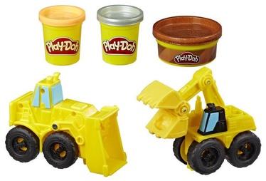 Hasbro Play-Doh Wheels Excavator and Loader E4294
