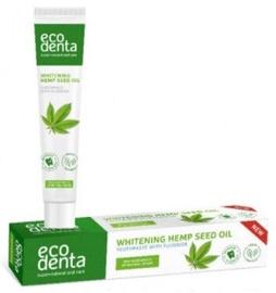 ECODENTA отбеливающая зубная паста с маслом семян конопли, 75ml