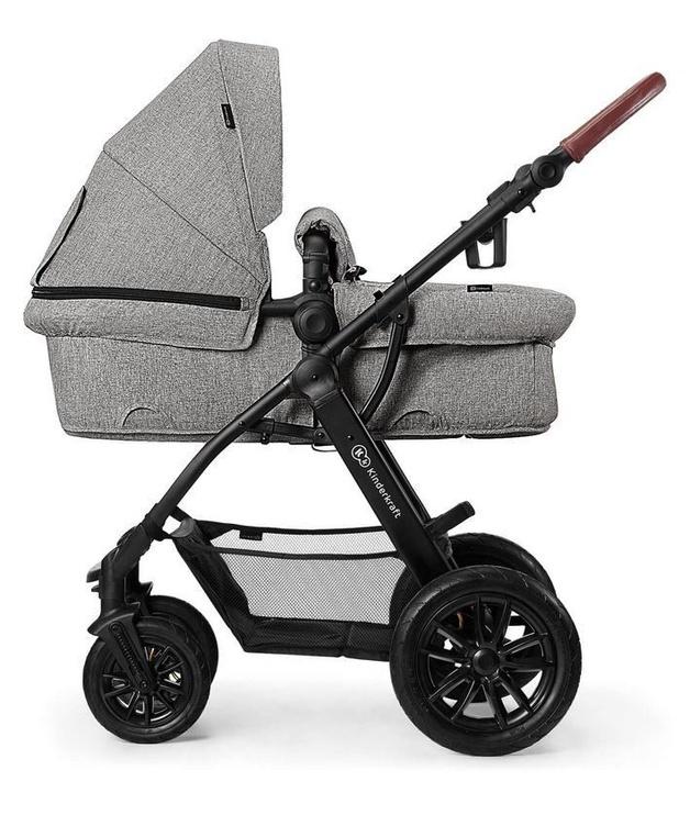 Universalus vežimėlis KinderKraft XMoov 3in1 Gray