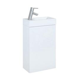 Pakabinama vonios spintelė be praustuvo Young, balta