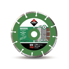 Rubi Diamond Cutting Disc SEV 125 Pro