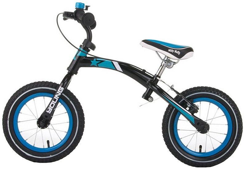 Balansinis dviratis Milly Mally Young Turquise 0394