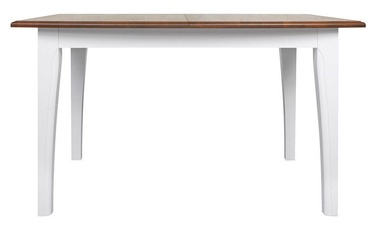 Black Red White Kalio Table White/Brown
