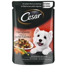 Konservuotas ėdalas šunims Cesar, su jautiena, 100 g