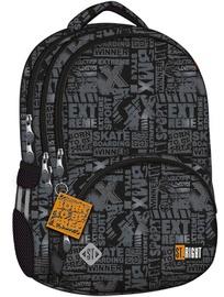 Школьный рюкзак 5903235638602, черный/серый