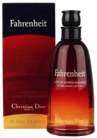 Pēc skūšanās losjons Christian Dior Fahrenheit, 100 ml