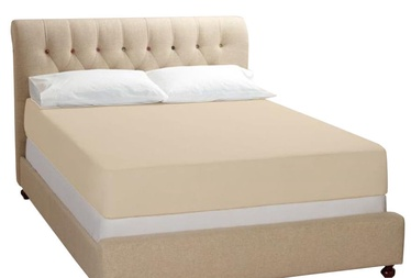 Bradley Bed Sheet Cream 240x260cm