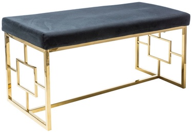 Signal Meble Bench Noir Gold/Black