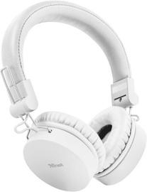 Ausinės Trust Tones On-Ear Bluetooth White
