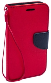 Telone Fancy Diary Bookstand Case For Nokia X6/6.1 Plus Red/Blue