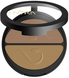 Inika Pressed Mineral Eye Shadow Duos 3.9g Gold Oyster