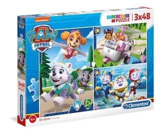 Clementoni Puzzle SuperColor Paw Patrol 3x48pcs 25260