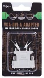 Natec Adapter VGA to DVI White