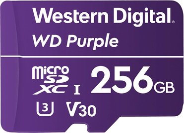 Western Digital Purple 256GB MicroSDHC UHS-I Class 10
