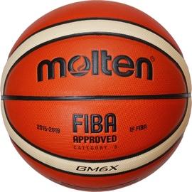Krepšinio kamuolys Molten BGM6X, dydis 6