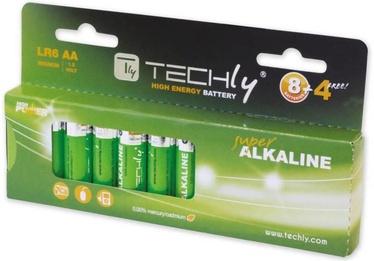 Techly Alkaline Batteries 12x AA