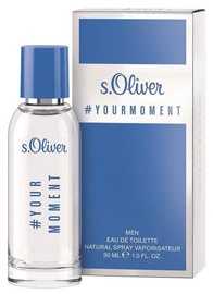 Tualetes ūdens S.Oliver Your Moment Men 30ml EDT