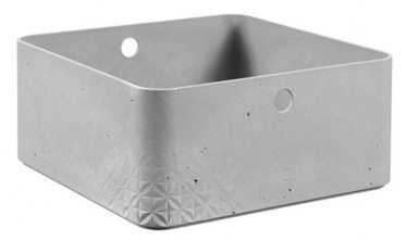 Curver Beton Box Half Cube L 8.5l Grey