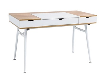 Signal Meble Writing Desk B151 Oak White