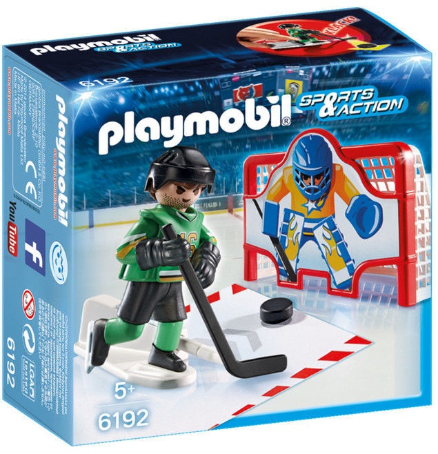 Playmobil Sports & Action Ice Hockey Shootout 6192