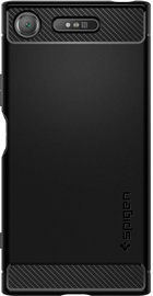 Spigen Rugged Armor Back Case For Sony Xperia XZ1 Black