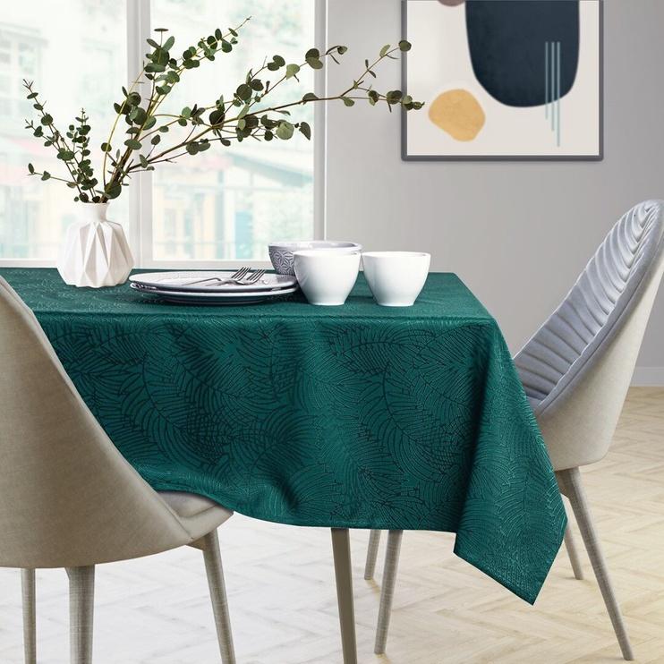 AmeliaHome Gaia Tablecloth HMD Bottle Green 140x240cm