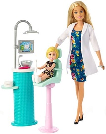 Lėlė Mattel Barbie Dentist & Playset FXP16