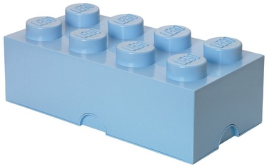 LEGO Storage Brick 8 Large Light Blue