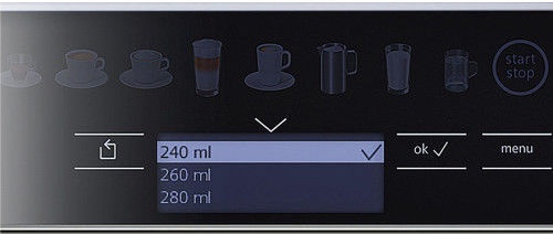 Siemens Coffee Machine Espresso Silver