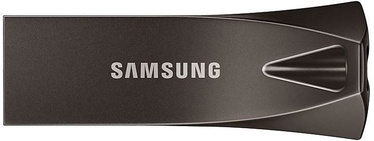 USB atmintinė Samsung BAR Plus Titan Gray, USB 2.0, 128 GB