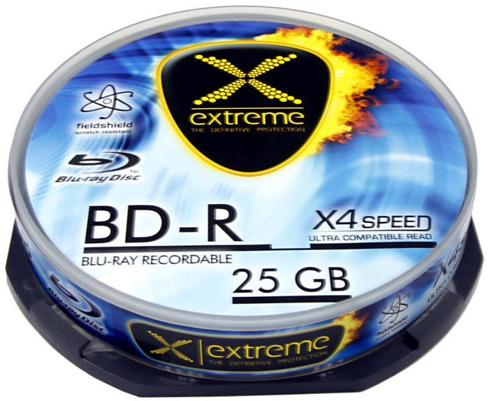 Esperanza BDR0017 BD-R 4X 25GB 10 Pack Cake Box