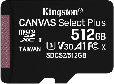 Kingston Canvas Select Plus 512GB microSDXC UHS-I Class 10