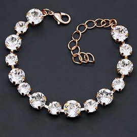 Diamond Sky Bracelet Classic IV With Swarovski Crystals
