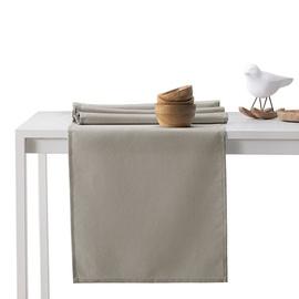DecoKing Pure HMD Tablecloth Cappuccino 40x140cm