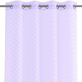 Dienas aizkari AmeliaHome Molisa Eyelets, violeta, 2700 mm x 1400 mm