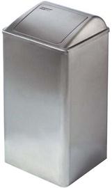 Mediclinics Bin PP0065CS 65l Matte Steel