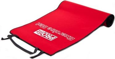 PROfit Exercise Mat 180x60x0.6cm Black/Red