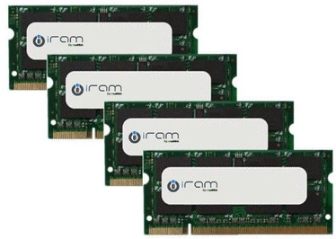 Mushkin iRAM 32GB 1066MHz CL7 DDR3 SODIMM KIT OF 4 MAR3S1067T8G28X4