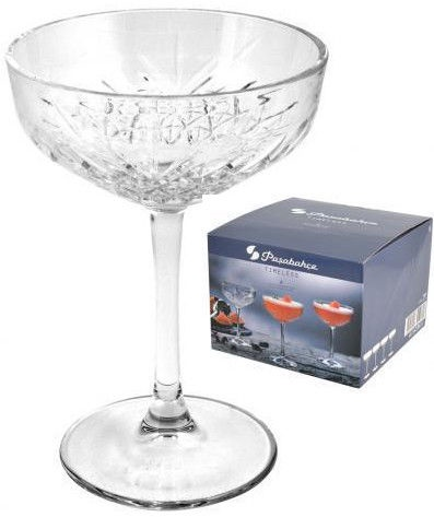 Pasabahce Timeless Champagne Glass 4Pcs 255ml 111100